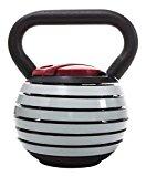 Kettlebell Fitness House 4 À 18.5 kg 7 En 1. Hantel Verstellbar, Grey, One Size, 889957338851